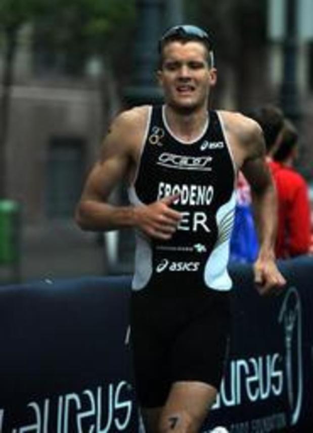 Ironman de Francfort - L'Allemand Jan Frodeno prolonge son titre de champion d'Europe d'Ironman à Francfort