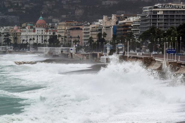 Noodweer eiste in Frankrijk en Italië al negen slachtoffers