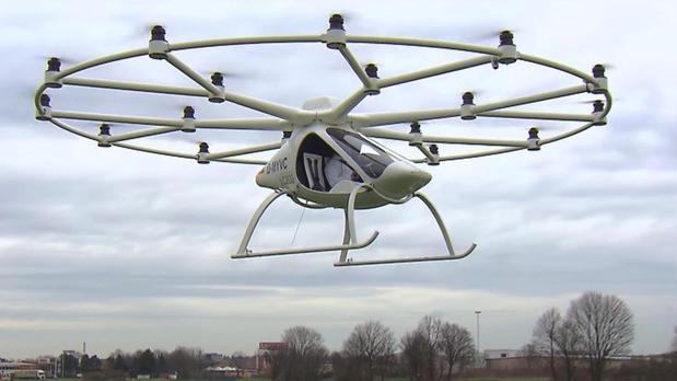 Volocopter effectue un vol d'essai à Singapour