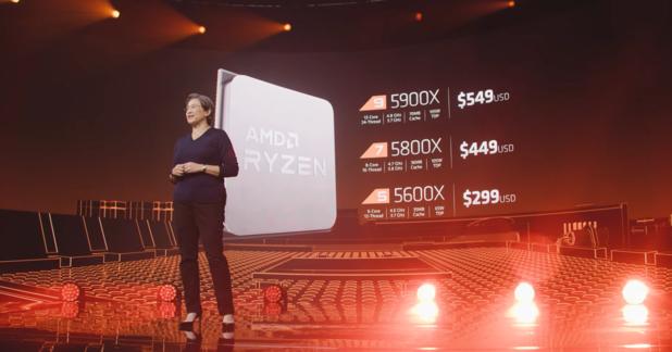 AMD lanceert nieuwe desktopchips op Zen 3 architectuur