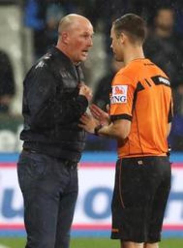 Un match en tribune et 1.000 euros d'amende requis contre Philippe Clement