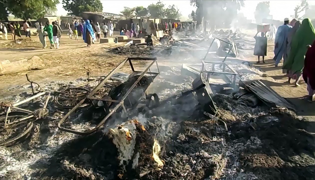 Nigeria: le bilan d'une attaque de Boko Haram dans le Nord-Est grimpe à 65 morts