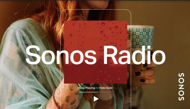 Sonos introduit ses propres stations radio (mais pas encore chez nous)