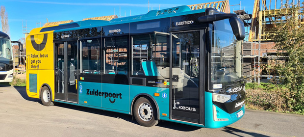 Busbedrijf Keolis: 'Emissieloze shuttlediensten zijn de toekomst'