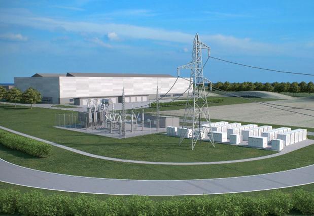Bastenaken krijgt groot batterijpark