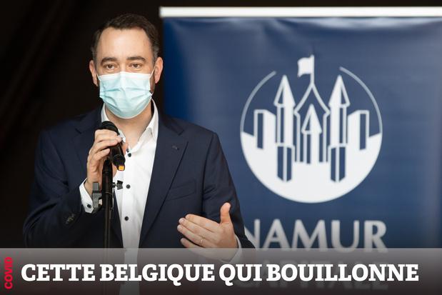 """Maxime Prévot: """"Les bourgmestres sont en première ligne de toutes les contrariétés"""""""