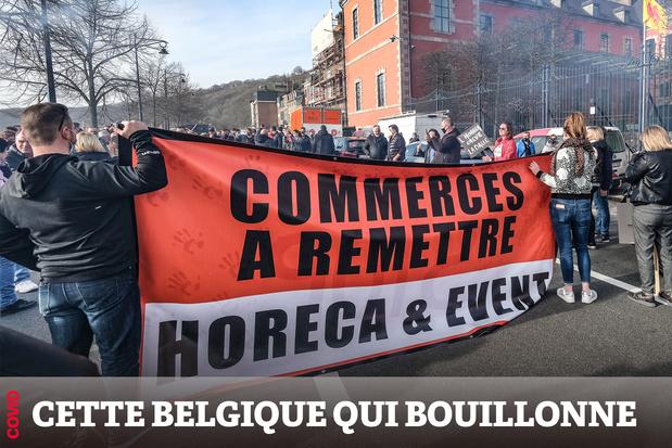 """Collectif Wallonie Horeca: """"On nous bâillonne alors qu'on crie au secours"""""""