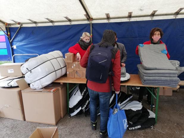 Coronavirus: Des tentes individuelles pour les SDF, l'option choisie à Liège