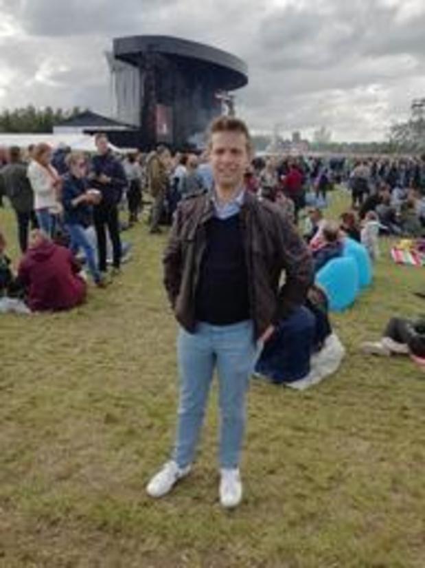 Werchter Boutique - Jelle Wouters debuteert als burgemeester op festivalweide in zijn gemeente