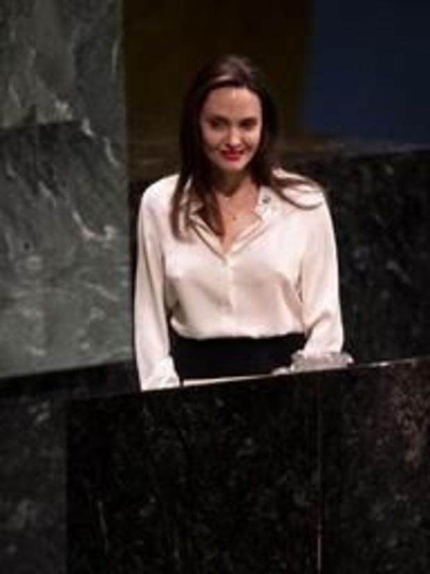 A l'ONU, Angelina Jolie plaide pour une Amérique impliquée dans le monde