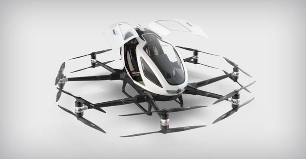 Dronemaker EHang wil naar de beurs in New York