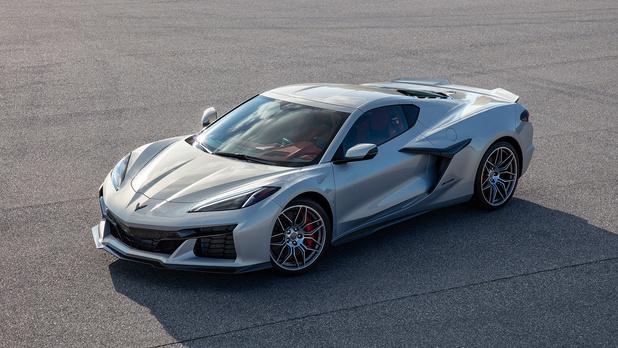 Corvette Z06 bulkt van de pk's
