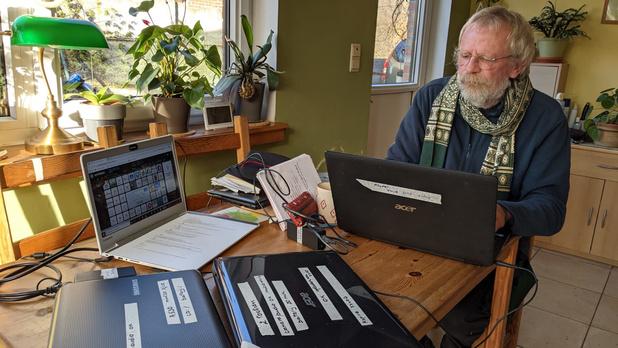 Oude laptops krijgen tweede leven voor anderstaligen