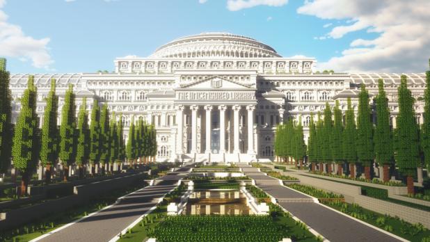 Une bibliothèque d'articles de presse censurés dans Minecraft