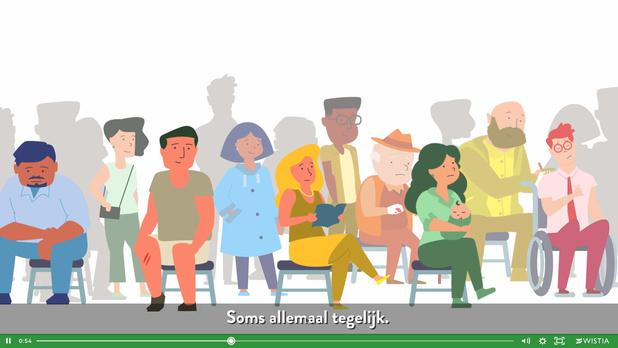 Animatiefilmpje verheldert triagesysteem spoedgevallen