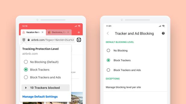 Vivaldi-browser met tracker-blocker nu ook beschikbaar voor Android
