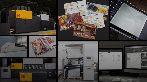 Kodak : plaques, CTP et jet d'encre continu