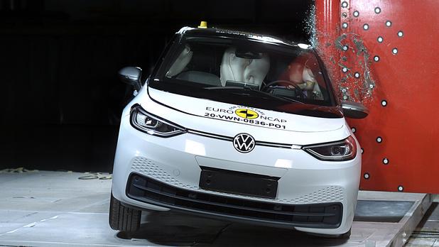 La VW ID.3 confirme son haut degré de sécurité