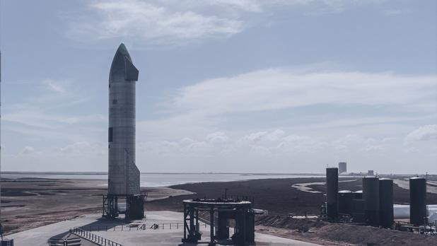 Nieuwe testvlucht Starship van SpaceX met een dag uitgesteld
