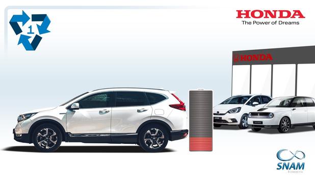 Honda maakt werk van recyclage van batterijen