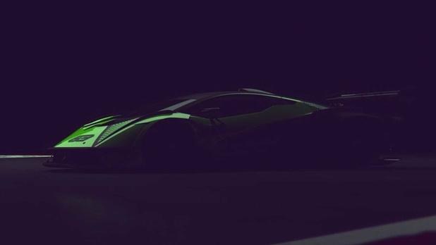 Lamborghini teaset nieuwe circuitbolide