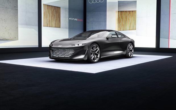 L'Audi Grandsphere concept annonce les A6 et A8 électriques de demain