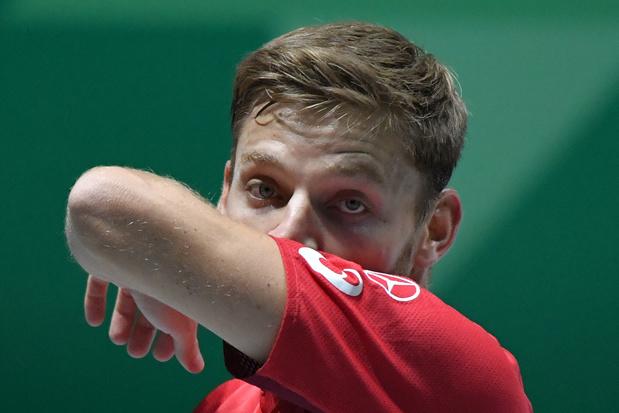 """Goffin, battu en Coupe Davis: """"Je n'ai jamais trouvé mon niveau de jeu cette semaine"""""""