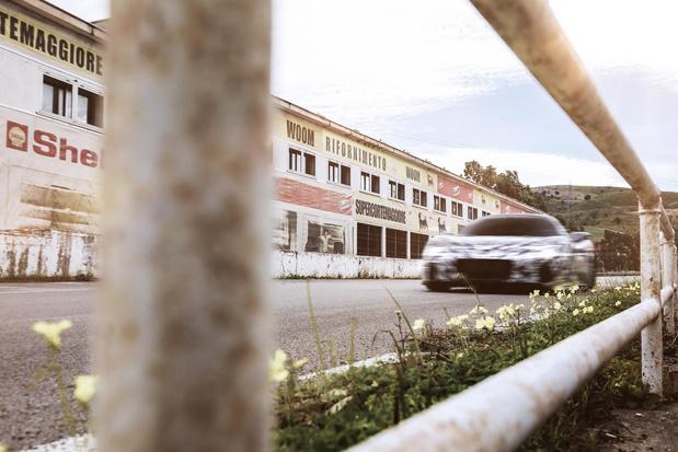 La Maserati MC20 de sortie en Sicile