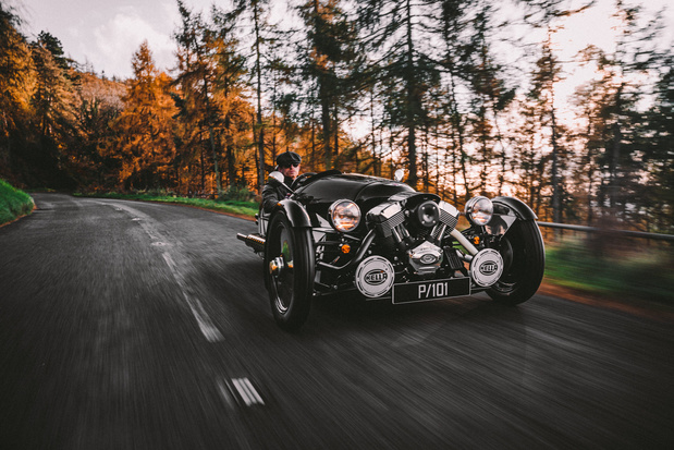 Arrêt de la production de la Morgan 3Wheeler