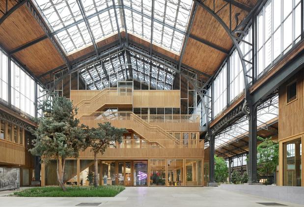 La Gare Maritime à Bruxelles récompensée d'un prix du Patrimoine européen