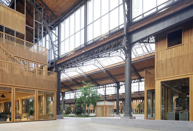 Un des plus grands food halls d'Europe bientôt à la Gare Maritime à Bruxelles