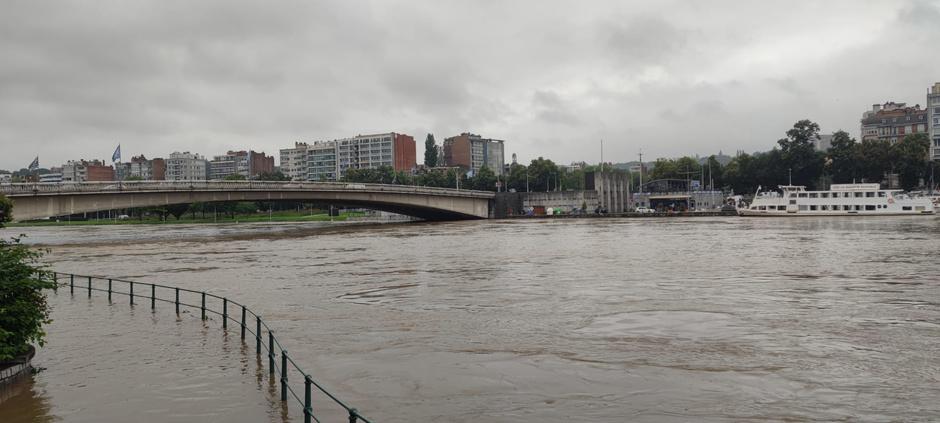Intempéries: Liège après les inondations (photos)