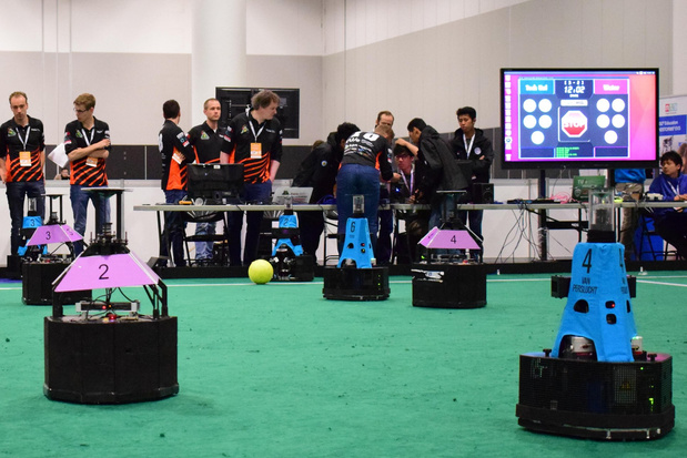 Les Pays-Bas de nouveau champions du monde de robot foot