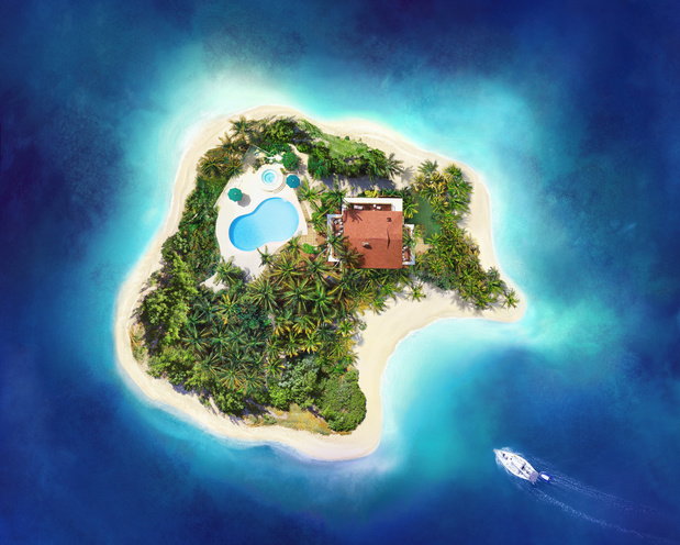 Waarom eilanden ons gelukkig maken