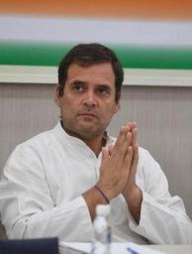 Rahul Gandhi kondigt ontslag aan als voorzitter van Congrespartij