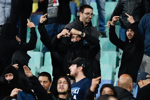 Mogelijk vijf jaar cel voor racistische Bulgaarse voetbalsupporter
