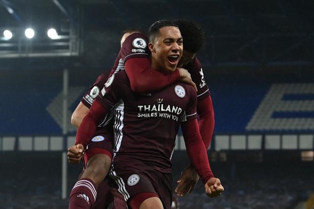 Avec un but de Tielemans, Leicester arrache un point à Everton