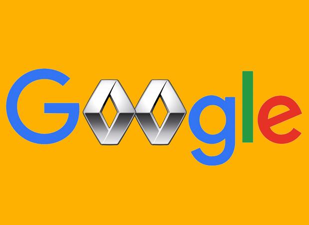 Google aan de slag met fabrieksgegevens Renault