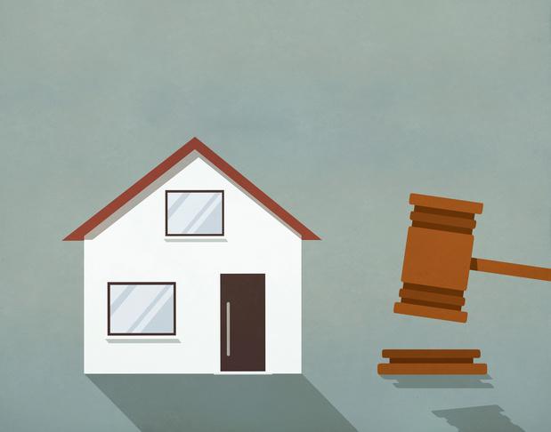 La loi n'interdit pas les expulsions en hiver