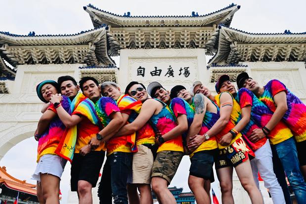 Bijna 200.000 mensen nemen deel aan Pride Parade in Taiwan