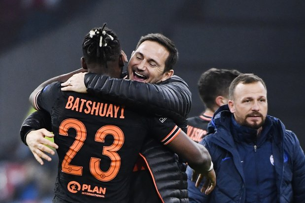 Batshuayi offre la victoire à Chelsea contre l'Ajax