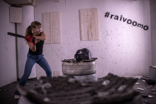 La rage room, un moyen d'évacuer la frustration et une violence encore tabou pour les femmes en Finlande