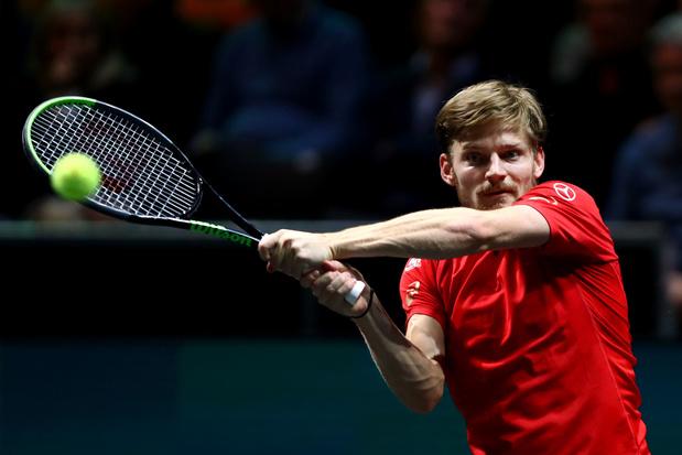 Ultimate Tennis Showdown: David Goffin verliest ook van Matteo Berrettini