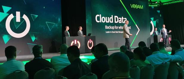 Snelgroeiend Veeam evolueert naar hybrid cloud