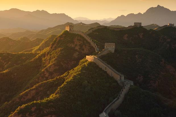 Du riz dans la Grande Muraille de Chine