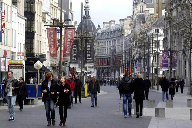 'Huurprijzen winkelruimte Antwerpse Meir met 14 procent gedaald'