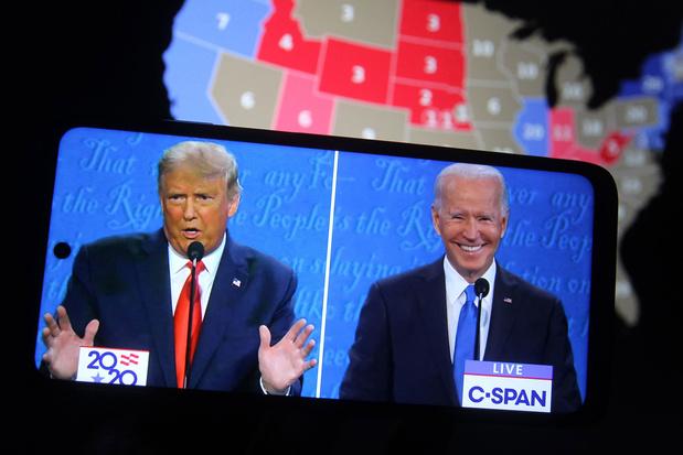 'En inderdaad, Trump werd niet herkozen'
