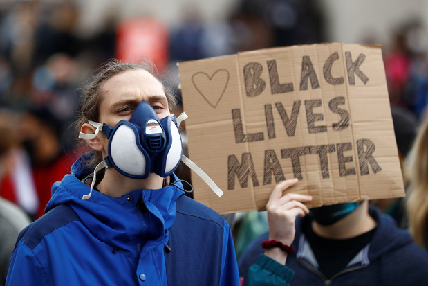 Stad Brussel laat Black Lives Matter-betoging zondag doorgaan
