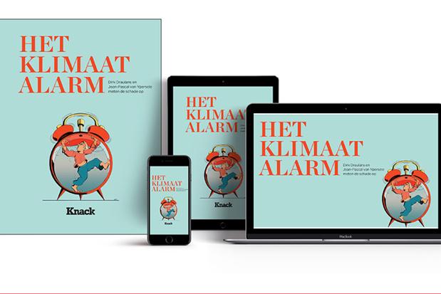 Knack lanceert 'Het Klimaatalarm' met manifest en podcastreeks