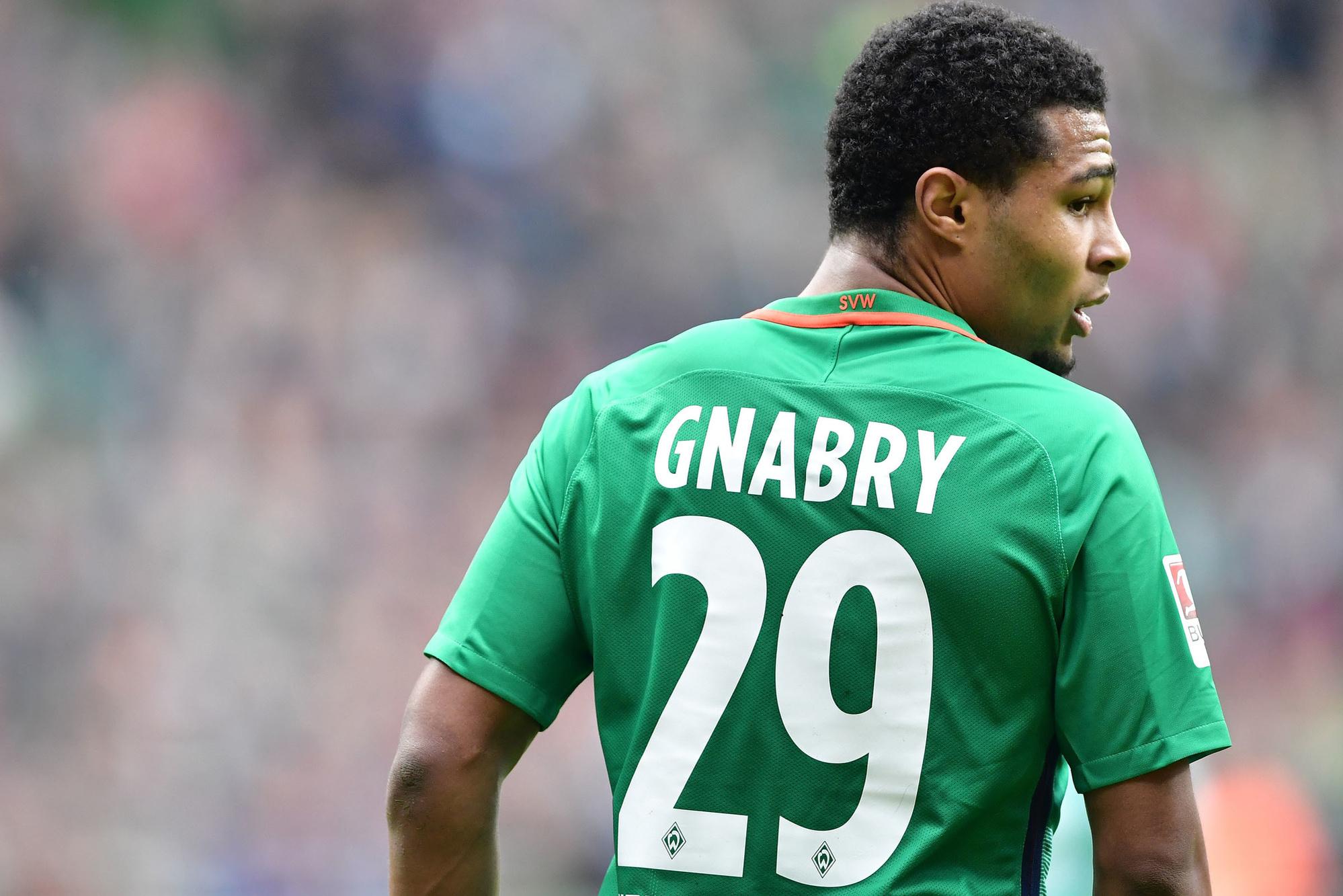 Bij Werder Bremen gaat het ineens snel voor Gnabry, GETTY